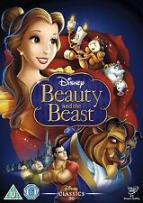 Beauty and the Beast Walt Disney classic R4 DVD New Sealed