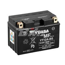BATTERIE YT12A-BS Combipack (con electrolito)
