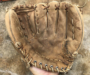 Vtg 1960s Wilson A2000 XL Baseball Glove Mitt  Pro Model USA LHC RHT
