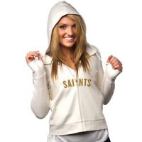 All-Sport Couture Womens NFL New Orleans Saints Play Action Hoodie NWT Pick Size