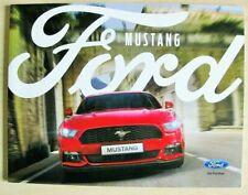 FORD Mustang 2017 UK SALES BROCHURE 60 PGS