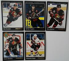1993-94 Pinnacle Ottawa Senators Team Set of 5 Hockey Cards