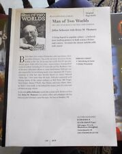Julius Schwartz Man of Two Worlds Galleys Proof Illustrated Autobiography SC