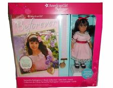 American Girl Beforever Samantha Doll with 3 Books, Mini Doll, Stand Bookmark