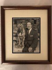 Authentic Rare Walt Disney Autographed Portrait Mint Condition