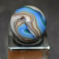 """Handpicked JABO Marble Multi-Color Swirl, Shooter, Size, 718=23/32"""" MINT!"""