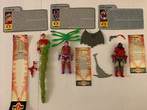 GI JOE Cobra LA Team Nemesis Enforcer, Royal Guard and Golobulus
