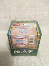 Rare Rawlings American Pastime Collection Gene Budig AL Baseball Factory Sealed