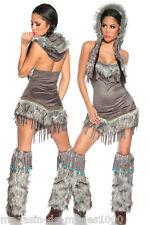 Sexy Indianer Kostüm Fasching Karneval
