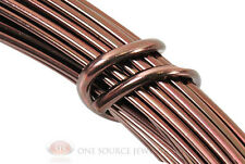 39 Ft. Brown Aluminum Craft Wire 12 Gauge Jewelry Making Beading Wrapping