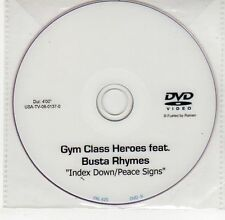 (EG520) Gym Class Heroes ft Busta Rhymes, Index Down/Peace Signs - DJ DVD