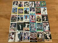 Lot of 100 Barry Bonds Baseball Cards TOPPS DONRUSS SCORE FLEER GIANTS+++