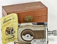 REVERE 16 Magazine 16mm Cine Movie Camera w/ Carry Case