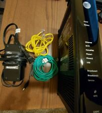 AT&T U-Verse Pace Gateway DSL Modem Router 5268AC FXN w/ Power Supply & Cables