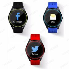 Bluetooth Smart Watch Montre Connectée Phone Call pour Smartphone IOS Android