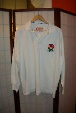 England Rugby union 1991 home retro vintage  jersey shirt long sleeve L (#9)