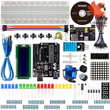 Basic Starter Kit for Arduino UNO R3 Project with Tutorial LCD Module Jumper ...