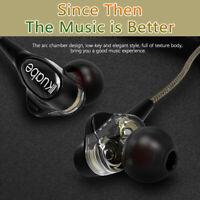 3.5mm Jack Wired Headset Earphone In-Ear Headphone Earbud Mic For Samsung/iPhone