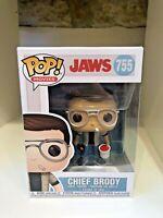 CHIEF BRODY WITH BUCKET FUNKO POP JAWS SHARK MOVIES ROY SCHEIDER #755