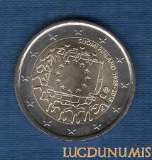 2 Euro Commémo – Finlande 2015 Drapeau Européen – Finland