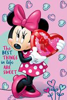 Minnie Mouse Fleecedecke Schmusedecke Kuscheldecke 100 x 150 cm