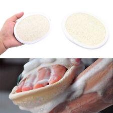 natural loofah luffa bath shower sponge body scrubber exfoliator washing pad GH