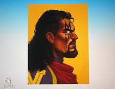 Bishop Mondo Mike Mitchell Portrait Print Marvel Giclee Proof X-Force Sold-Out