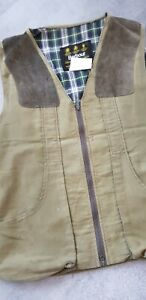 Barbour Green Shooting Jacket Coat Game Gillet XL Chest 46in