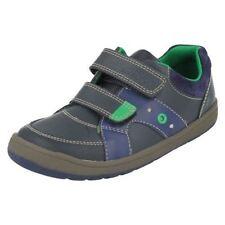 Chaussures décontractées à attache auto-agrippant pour garçon de 2 à 16 ans