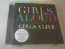 GIRLS ALOUD - GIRLS A LIVE - 8 TRACK CD ALBUM