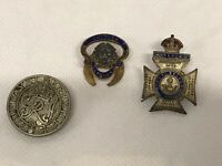 Collection Of 3 Old Army Badges