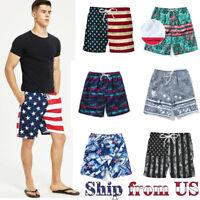 Man's Sport Training Running Summer Shorts Swimwear Gym Beach Casual Pants