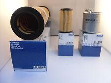Mercedes E Class E220 CDI Service Kit Oil Air Fuel Filter 03-06 OPT2 *OE MAHLE*