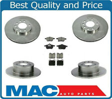 00-05 Saturn L100 200 300 LW  Frt & Rr Rotors & Ceramic Pads 34140 34126 ALL NEW