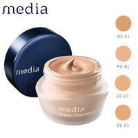 [MEDIA KANEBO] CREAM FOUNDATION Moisture Coverage UV 25g SPF25 PA++ JAPAN NEW