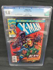 X-Man #31 (1997) Mark Bernardo Story CGC 9.8 White Pages E391