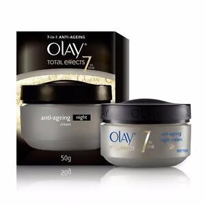 Olay Total Effects 7-In-1 Anti Aging Night Skin Cream, 50gm