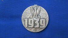 Poland medal : Za udzial w wojnie obronnej ojczyzna 1939,