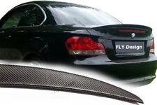 für BMW m coupe 1er Carbon Optik heckspoilerlippe spoiler abrisskante heck neu
