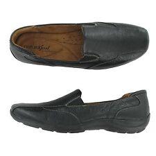 Women Naturalizer Fetlar B2937l1001 Black Leather Loafer Slip on Flat Shoes 9 Medium (b M)