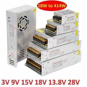 DC Regulated Switching Power Supply Transformer 3V 9V 13.8V 15V 18V 28V Monitor