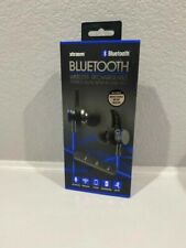 Xtraem Blue Bluetooth Wireless Rechargeable Stereo Buds With In-Line Mic
