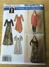 Simplicity Khaliah Ali Collection Dress  pattern #1623 Size 10-18 UNCUT