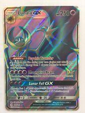 POKEMON card  🌞🌙Lunala GX • FullArt Rara •Holo •Carta ENG •141/149 •PS250 New