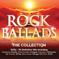 ROCK BALLADS-THE COLLECTION 3 CD NEW!