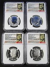 2014 Kennedy Silver 50th Anniversary High Relief Early Releases NGC PF70 SP70 PL