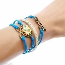 Leather Statement Fashion Bracelets