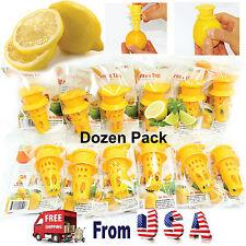 12 pcs: EcoJeannie Citrus Tap Faucet ,Citrus Juicer,Lemon Juicer, Lime Squeezer