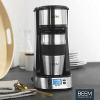 Beem Single Machine Coffee Filter Permanent for Coffee and Tea 750W Timer