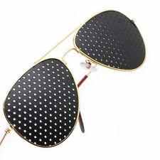1Pc Anti-fatigue Pinhole Glasses Stenopeic Glasses Vision Improver Eyesight Care